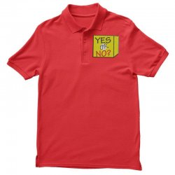 yes our no Polo Shirt | Artistshot