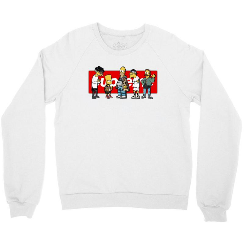 6c51e4f64ea0 Custom Grup Supreme Crewneck Sweatshirt By Danscollection - Artistshot