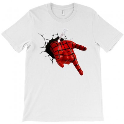 Cool Spider T-shirt Designed By Danscollection