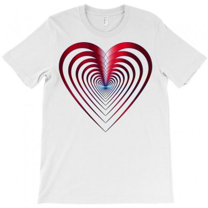 Love Red Best T-shirt Designed By Branded