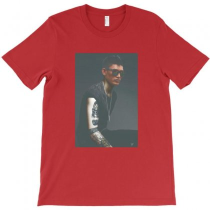 Cool Man Tattoes T-shirt Designed By Danscollection