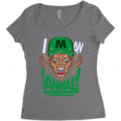 wild (2) Women's Triblend Scoop T-shirt | Artistshot