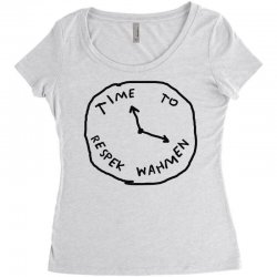 Time To Respek Wahmen Women's Triblend Scoop T-shirt | Artistshot