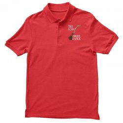 yes i can drive stick Polo Shirt | Artistshot