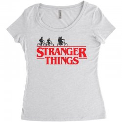 Stranger Things Women's Triblend Scoop T-shirt | Artistshot