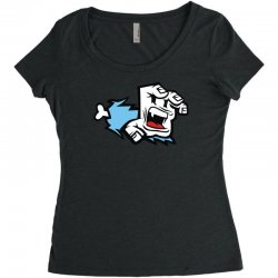 screaming paw Women's Triblend Scoop T-shirt | Artistshot