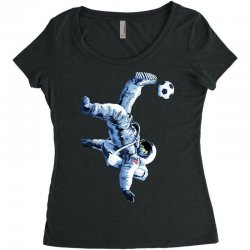 """""""buzz aldrin"""" always sounded like a sports name Women's Triblend Scoop T-shirt 