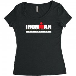 ironman triathlon world championships Women's Triblend Scoop T-shirt | Artistshot