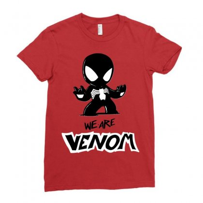 We Are Venom Ladies Fitted T-shirt Designed By Sbm052017