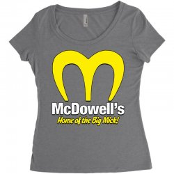 mcdowells Women's Triblend Scoop T-shirt | Artistshot
