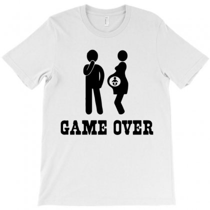 Game Over  Funny Pregnancy T-shirt Designed By Muzakkir