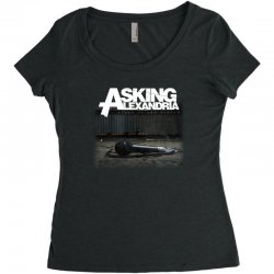 asking alexandria stand up and scream metalcore parkway drive Women's Triblend Scoop T-shirt | Artistshot