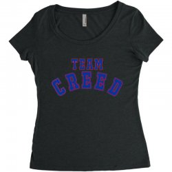 Team Creed Women's Triblend Scoop T-shirt | Artistshot