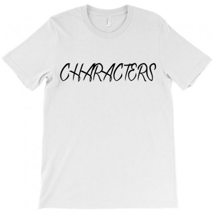 Characters T-shirt Designed By Megaagustina