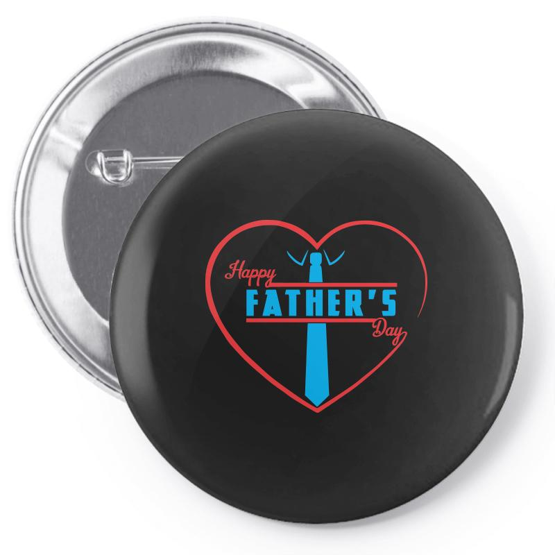 3932e3959 Custom Happy Father's Day Pin-back Button By Sbm052017 - Artistshot