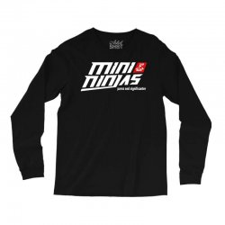 minininjas Long Sleeve Shirts | Artistshot