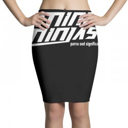 minininjas Pencil Skirts | Artistshot