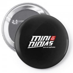 minininjas Pin-back button | Artistshot