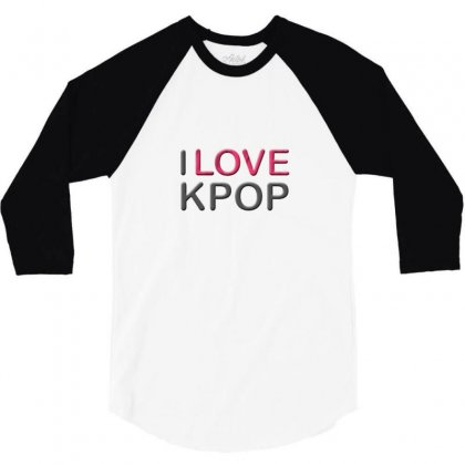 Love Pop 3/4 Sleeve Shirt Designed By Love
