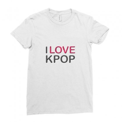 Love Pop Ladies Fitted T-shirt Designed By Love