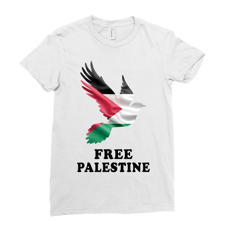 Free Palestine Ladies Fitted T-shirt | Artistshot