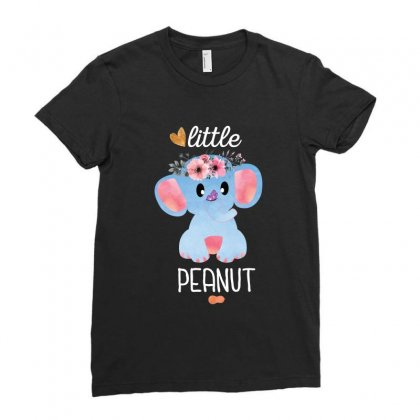 Little Peanut Ladies Fitted T-shirt Designed By Seda