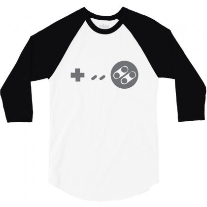 Controller 3/4 Sleeve Shirt Designed By Megaagustina