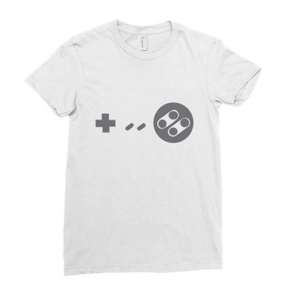 Controller Ladies Fitted T-shirt Designed By Megaagustina