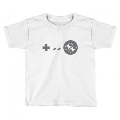 Controller Toddler T-shirt Designed By Megaagustina