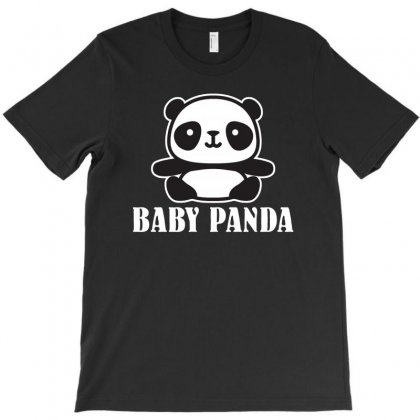 Baby Panda T-shirt Designed By Ofutlu