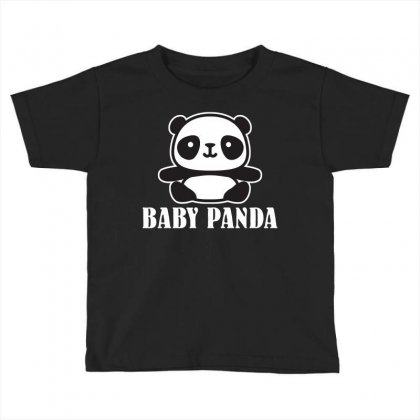 Baby Panda Toddler T-shirt Designed By Ofutlu