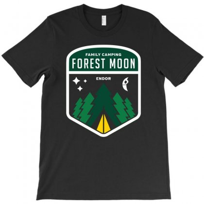 Endor Family Camping T-shirt Designed By Monzart