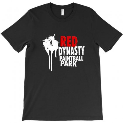 Red Painball T-shirt Designed By Danscollection