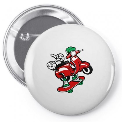 Funny Pin-back Button Designed By Igun
