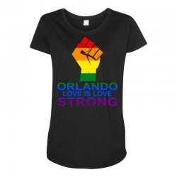 Love Is Love, Orlando Strong Maternity Scoop Neck T-shirt | Artistshot