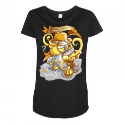 FUNNY ZODIAC SIGNS ARIES Maternity Scoop Neck T-shirt | Artistshot