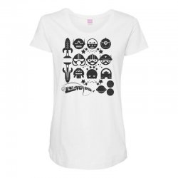 Out Space Maternity Scoop Neck T-shirt | Artistshot