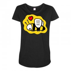 love bee lover valentine Maternity Scoop Neck T-shirt | Artistshot