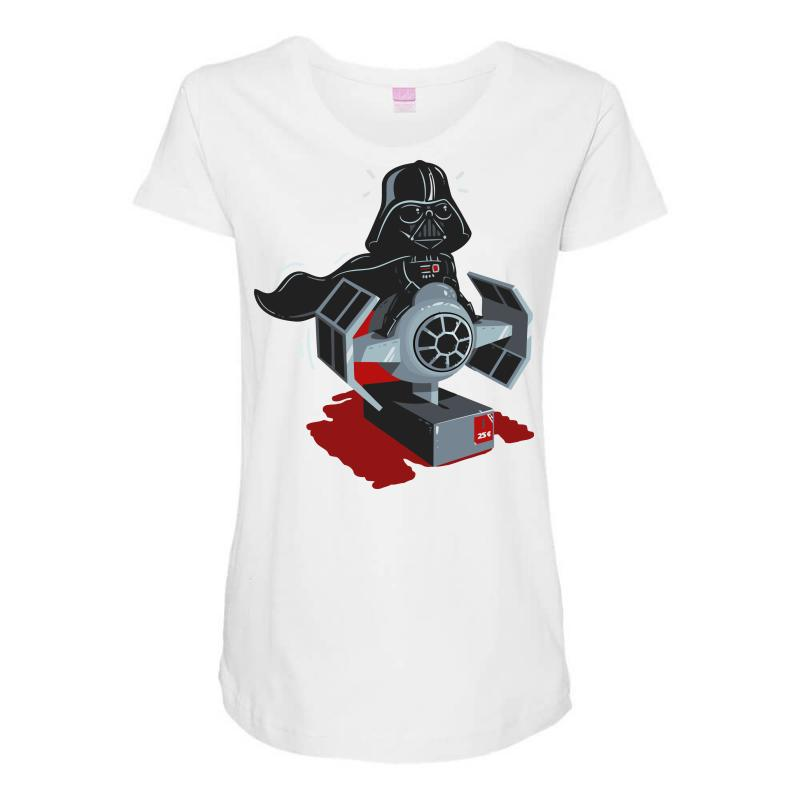 efae3eec Custom The Force Is Strong With This One Maternity Scoop Neck T ...