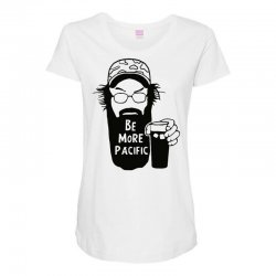 be more pacific Maternity Scoop Neck T-shirt | Artistshot