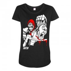 Red Murder Maternity Scoop Neck T-shirt | Artistshot