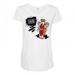 Angry Boss Screaming Deadline Maternity Scoop Neck T-shirt | Artistshot