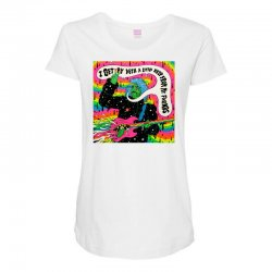 Flaming Lips Maternity Scoop Neck T-shirt | Artistshot