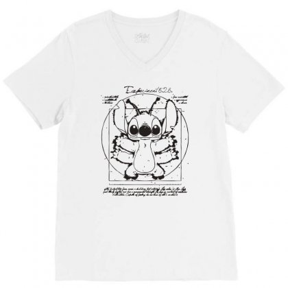 Experiment 6 V-neck Tee Designed By Monzart