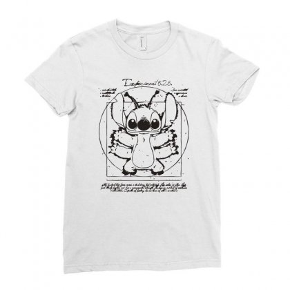 Experiment 6 Ladies Fitted T-shirt Designed By Monzart