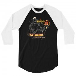 eye scream 3/4 Sleeve Shirt | Artistshot