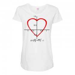 geek love shirt Maternity Scoop Neck T-shirt | Artistshot