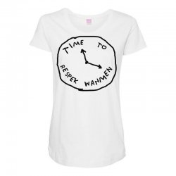 Time To Respek Wahmen Maternity Scoop Neck T-shirt | Artistshot