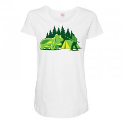 wild gummi Maternity Scoop Neck T-shirt | Artistshot
