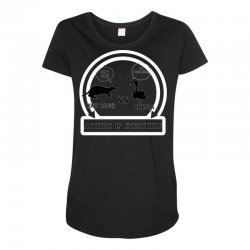 honey badger vs cobra attitude is everything Maternity Scoop Neck T-shirt | Artistshot